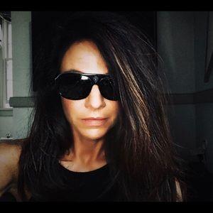 Gucci VINTAGE AUTH  Aviator Sunglasses BLACK